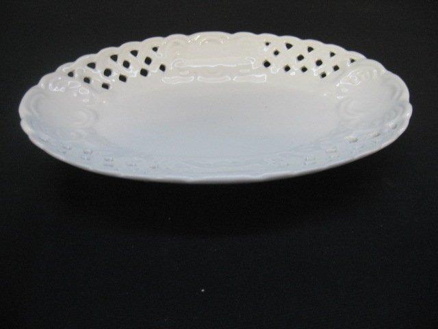 #6  Small Ceramic Lace Serving Dish