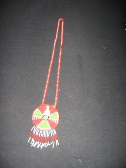 #1  Native American Beaded Knecklace
