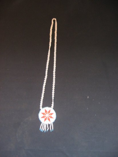 #3  Native American Beaded Knecklace