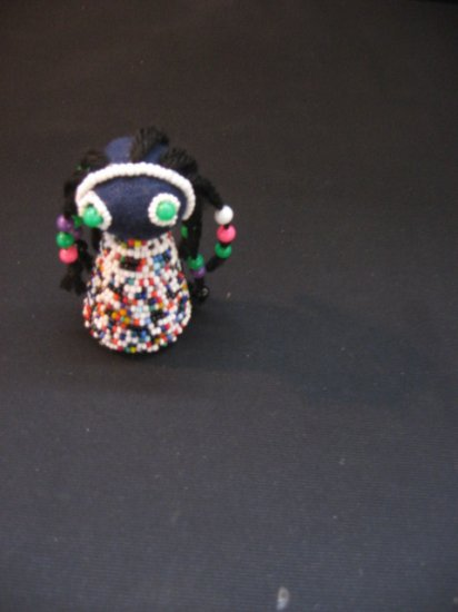 #5  Native American Beaded Doll