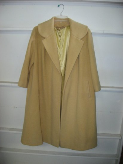 #11 Vintage  Yellow Womens Coat