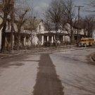 VINTAGE SCHOOL BUS PHOTO STREET 1940S JOHN VACHON HISTORIC 1943 40'S OLD