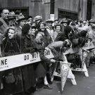 OLD ST PATRICK PARADE VINTAGE HISTORIC NEW YORK CITY PHOTO 1950S VINTAGE