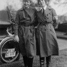 1917 RED CROSS NURSE PHOTO MOTOR CORPS WOMEN UNIFORM