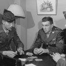 1943 SOLDIER PHOTO VINTAGE CARDS UNIFORM HANDSOME MEN