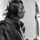 NATIVE AMERICAN PHOTO FLYING HAWK SIOUX INDIAN BUFFALO BILLS WILD WEST SHOW 1900