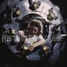 1942 WOMAN WORKER PHOTO ROSIE RIVETER WWII B-25 BOMBER PLANE ENGINE