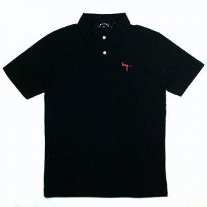 Marc by Marc Jacobs BANG Polo Tee T Shirt Black Medium