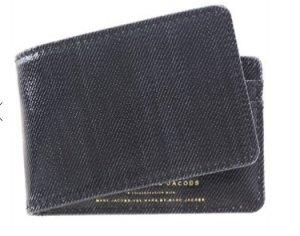 Marc Jacobs DENIM Snap Wallet