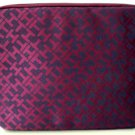 "Tommy Hilfiger Tech Zip case for Tablet, Notebook, Ipad, 10"" laptop Burgundy/Navy"