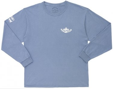 Marc by Marc Jacobs Blue Mens Hug Club Long Sleeve Tee T Shirt Large