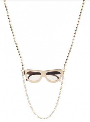 Marc by Marc Jacobs Sunglasses Necklace Gold