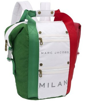 Marc Jacobs Handle Backpack Bag Back Pack Bookbag Handlebag: Milan