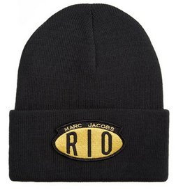 MARC JACOBS Acrylic Ski Winter Hat Skully Beanie Hat RIO