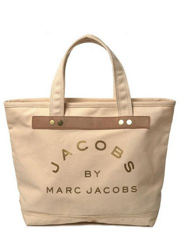 Marc by Marc Jacobs Small Canvas tote bag in Natural Nude Beige