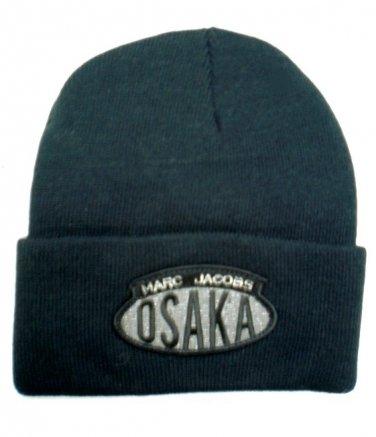 MARC JACOBS Acrylic Ski Winter Hat Skully Beanie Hat OSAKA