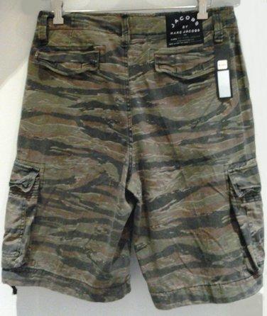 Marc Jacobs Tiger Stripe Cargo Shorts Lil Wayne size Small