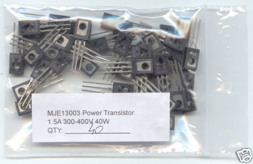 40pcs - MJE13003 Power Transistors (MJE 13003). L@@K !!