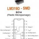 10pcs - LM319D high speed comparators SMD (LM319 D)