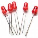 50pcs - Red Leds 5mm (Light Emitting Diode). Bargain!
