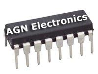 5 X  SN74LS375 16pin DIP IC (74LS375N SN74LS375N 74LS)