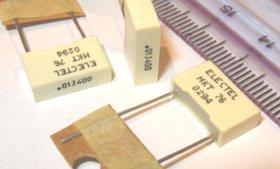 25pcs 0.01uF 400V Metallised Polyester Capacitors MKT