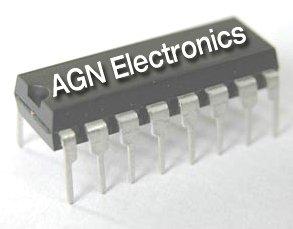 5pcs- CD4532 (MC14532) 8-Bit Encoder - Motorola