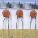 100pcs - 3.3nF 63V Ceramic Capacitors (3n3 0.0033uF)