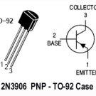 50pcs - 2N3906 (2N 3906 N3906) PNP TO-92 Transistor