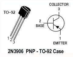 40pcs - 2N3906 (2N 3906 N3906) PNP TO-92 Transistor