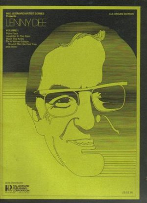 Lenny Dee, Volume 1, 1977 (All Organ Edition)