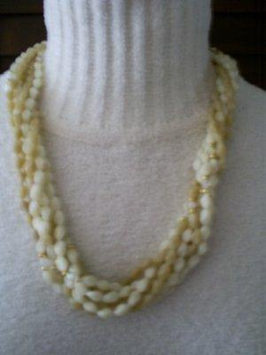 "Vintage Multi-Strand Necklace, 24"""