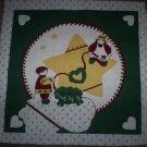 """Christmas Craft Panel 13 1/2"""" X 13 1/2""""  Star"""