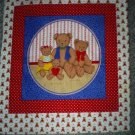 "Teddy Bears Craft Panel 17"" X 18"""