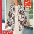 Butterick Pattern #5763, Size 6-14 Tall