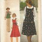 Vintage Simplicity Pattern #7372, Size 8