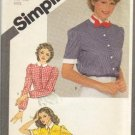 Vintage Simplicity Pattern #9842, Size 6 & 8