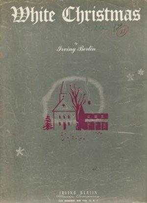 White Christmas Sheet Music, 1942