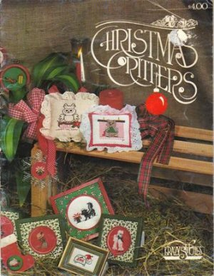 """""""Christmas Critters"""", by Krazy Stitches, 1981"""
