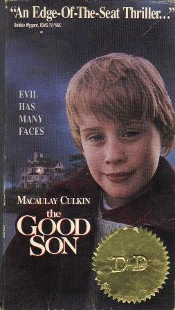 The Good Son VHS Movie Rated R