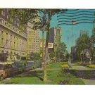 Vintage Postcard,  Washington Boulevard, Detroit Michigan, Very Good Condition