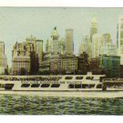 Vintage Postcard,  Manhattan Island, New York, 1962, Very Good Condition