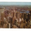 Vintage Postcard, New York Skyline,  Very Good Condition