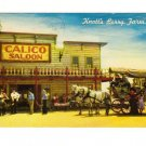 Vintage Postcard, Knott's Berry Farm,  Ghost Town, CA.  Good Condition