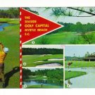 Postcard, The Seaside Golf Capital Myrtle Beach, S.C. 1986.  Very Good Condition