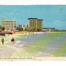 New Vintage Postcard, Lido Beach, Sarasota, Fl.  Good Condition