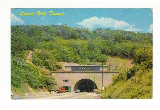 New Vintage Postcard, Laurel Hill Tunnel,  Good Condition