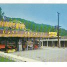 New Vintage Postcard, Davy Crockett Shop,  Very Good Condition