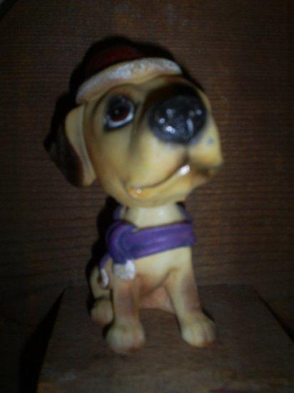 Adorable Bobble head Christmas Pup