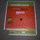 Vintage Needle card from Woolworth/Woolco